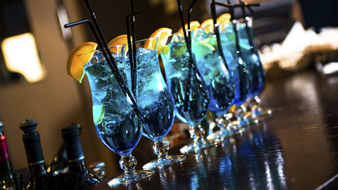Blue Lagoon Cocktails